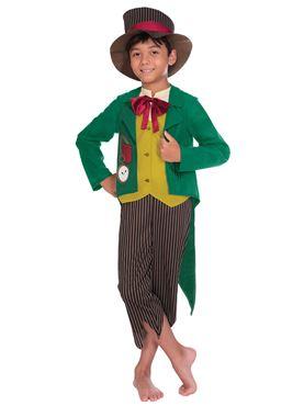 Child Dickensian Boy Costume