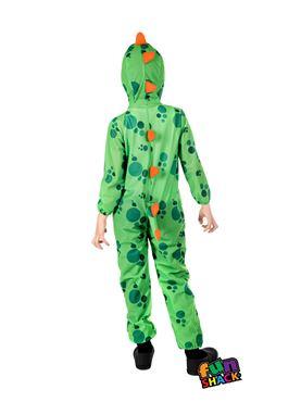 Child Dinosaur Costume - Back View