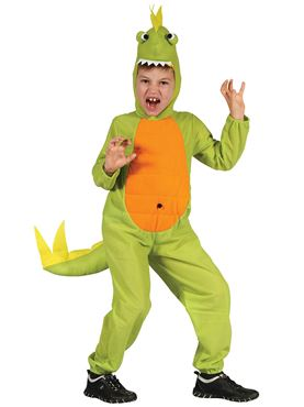 Child Dinosaur Jumpsuit and Hood