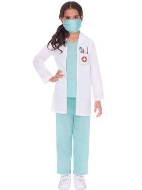 Child Doctor Scrubs Costume