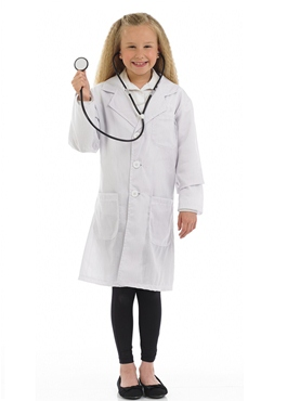 Child Doctor Costume - Back View