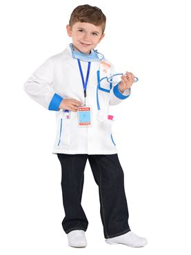 Child Doctors Costume - Back View