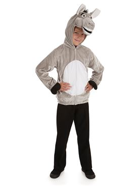 Child Donkey Costume - Back View