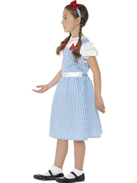 Child Dorothy Costume - Back View