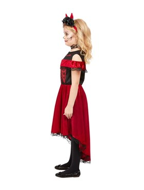 Child DOTD Devil Costume - Side View