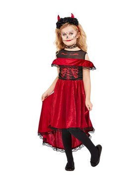 Child DOTD Devil Costume Couples Costume
