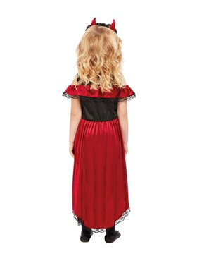 Child DOTD Devil Costume - Back View