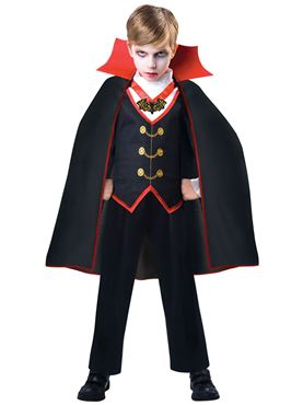 Child Dracula Boy Costume
