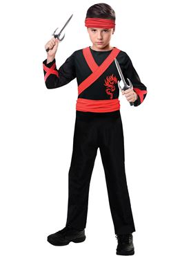 Child Dragon Ninja Costume
