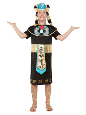 Child Egyptian Prince Costume - Back View