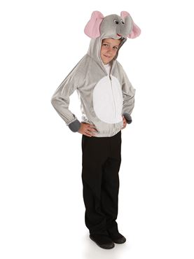 Child Elephant Costume - Back View