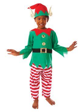 Child Elf Boy Costume