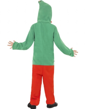 Child Elf Onesie Costume - Side View