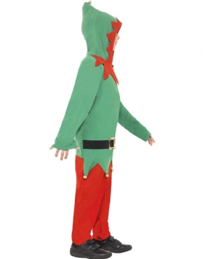 Child Elf Onesie Costume - Back View