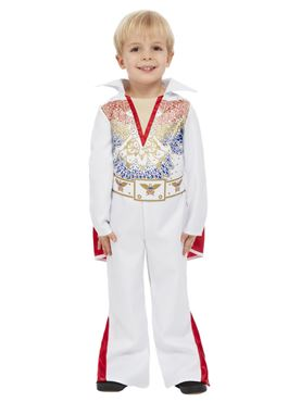 Child Elvis Toddler Costume - Back View