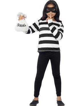 Child Burglar Instant Kit - Back View