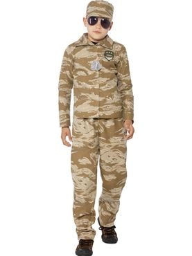 Child Desert Army Costume