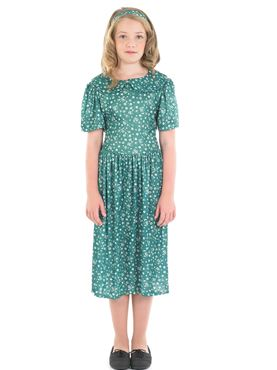 Child Evacuee Dress Costume