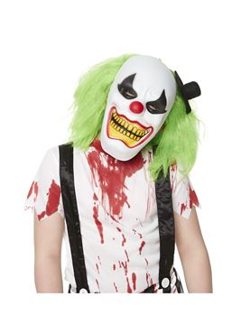 Child Evil Clown Costume - Side View