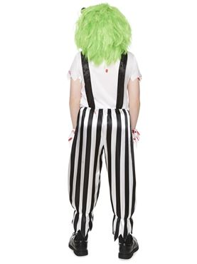 Child Evil Clown Costume - Back View