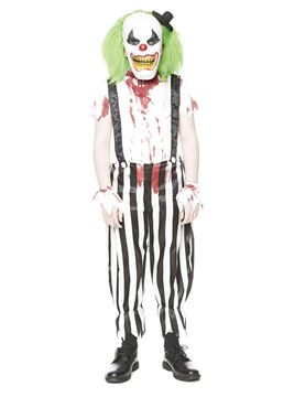 Child Evil Clown Costume