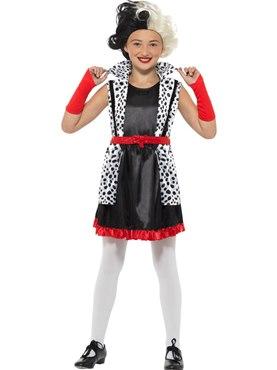 Child Evil Little Madame Costume