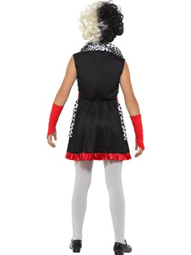 Child Evil Little Madame Costume - Side View
