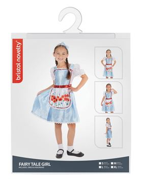 Child Fairy Tale Costume - Side View