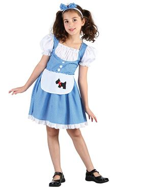 Child Fairytale Dorothy Costume