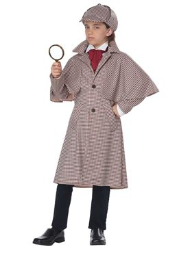 Child Famous Detective Costume - Side View