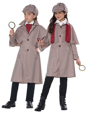 Child Famous Detective Costume