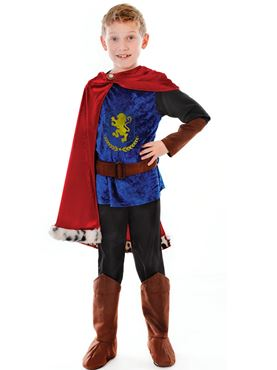Child Fantasy Prince Costume