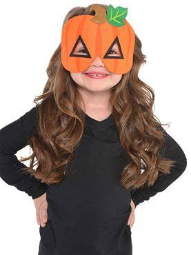 Child Felt Pumpkin Mask