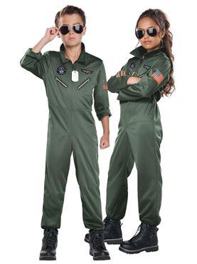 Child Fighter Pilot Costume
