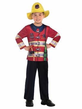 Child Fire Fighter Sustainable Costume