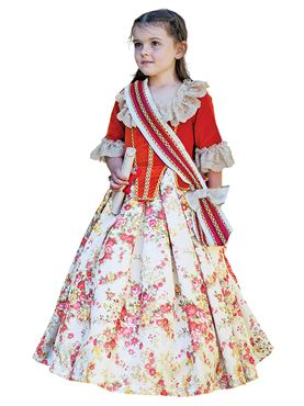 Child Floral Countess Costume