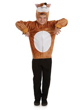 Child Fox Costume - Back View