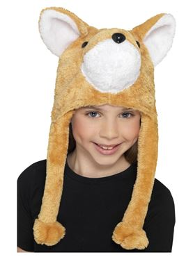 Child Fox Hat - Back View