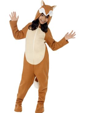 Child Fox Onesie Costume