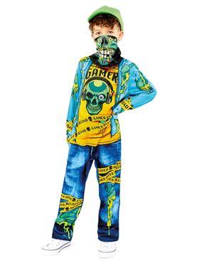Child Gaming Zombie Costume