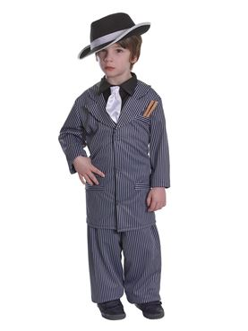 Child Gangster Boy Costume