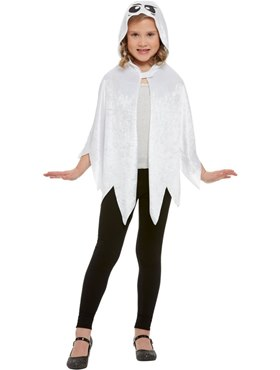 Child Ghost  Hooded Cape