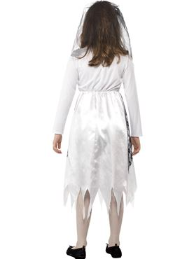 Child Ghostly Bride Costume - Side View