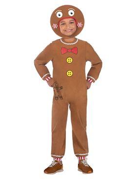 Child Gingerbread Man Costume