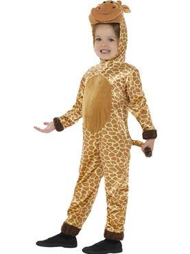 Child Giraffe Costume - Back View