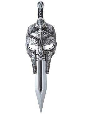 Child Gladiator Mask & Sword