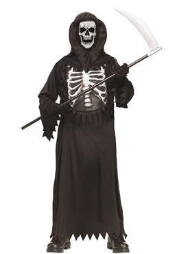 Child Glow Chest Reaper Costume