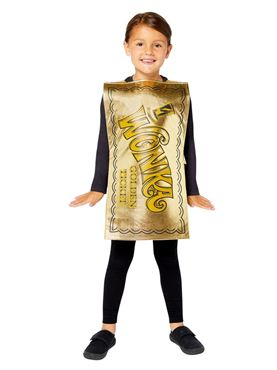 Child Golden Ticket Tabard Couples Costume
