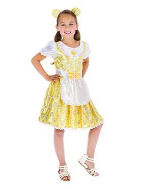 Child Goldilocks Costume - Back View