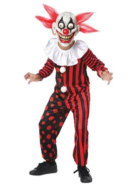 Child Googly Eye Clown Costume